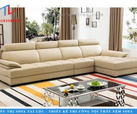 Nội thất sofa phòng khách bọc nệm là thế mạnh của Tài Lộc.