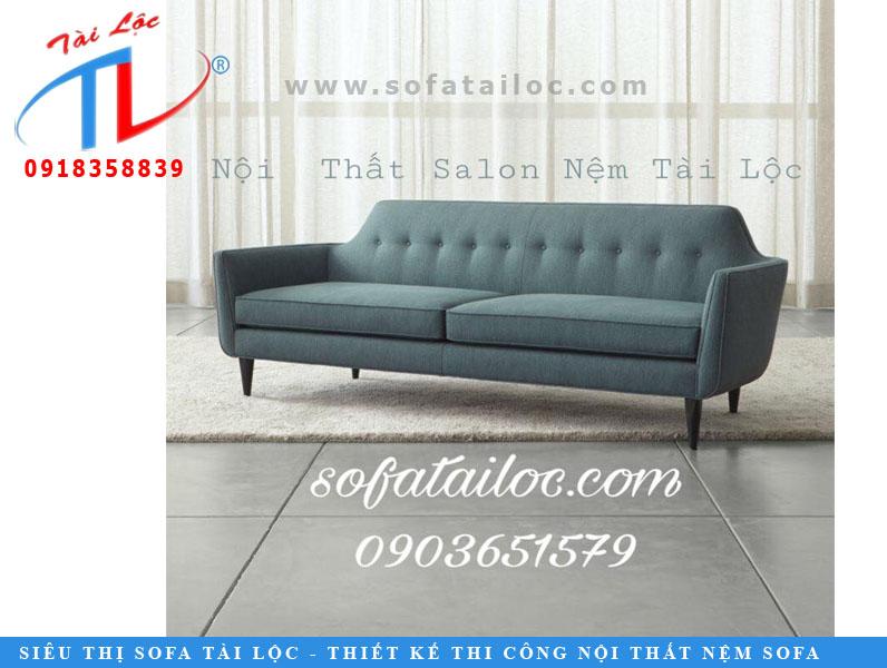 Mẫu sofa băng xanh teal đẹp mắt