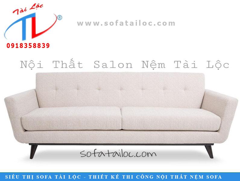 Sofa băng màu trắng tinh khôi