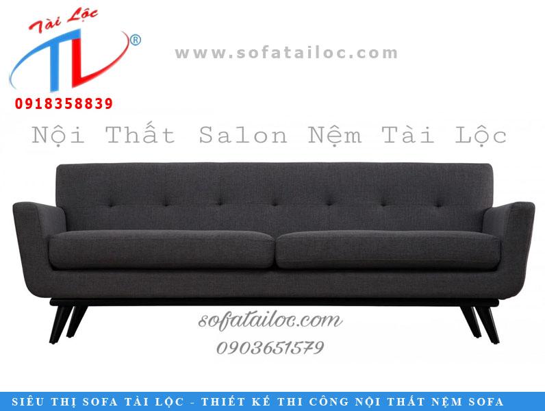 Sofa băng màu đen huyền bí