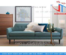 Mẫu sofa băng tinh tế được cắt viền cẩn thận
