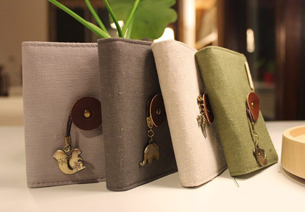 Những quyển sổ tay handmade được làm từ vải bố