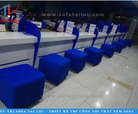 Công trình đóng ghế sofa ngân hàng Vietbank