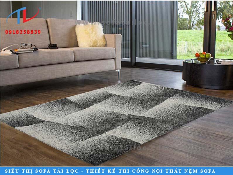 Thảm trải sàn phòng khách lông xù T0006