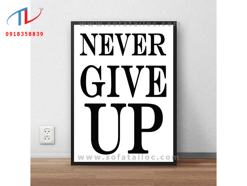 tranh-chu-slogan-never-give-up