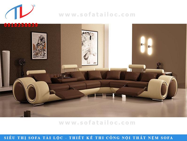 Bộ sofa màu nâu và beige là sự lựa chọn phổ biến nhất của người dân Ấn Độ và trên toàn cầu. Kết hợp sự kết hợp giữa màu nâu và beige cũ với các hệ thống Reclining Hi Tech hiện nay mang lại cho bạn một Bộ Sofa hoàn hảo cho Rạp hát gia đình của bạn hoặc phòng khách của bạn. Các nhà thiết kế nội thất tại Futomic sẽ khuyên bạn nên đặt loại Sofa này trong Rạp hát gia đình hoặc khu vực Casual Sitting của bạn.