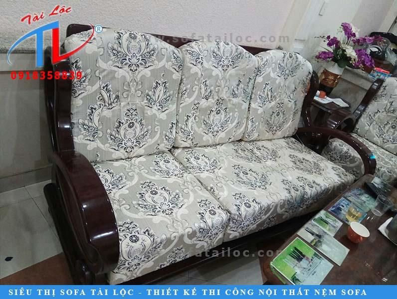 Mẫu ghế mới nhất được Tài Lộc bọc lại cho khách hàng ở quận Gò Vấp.
