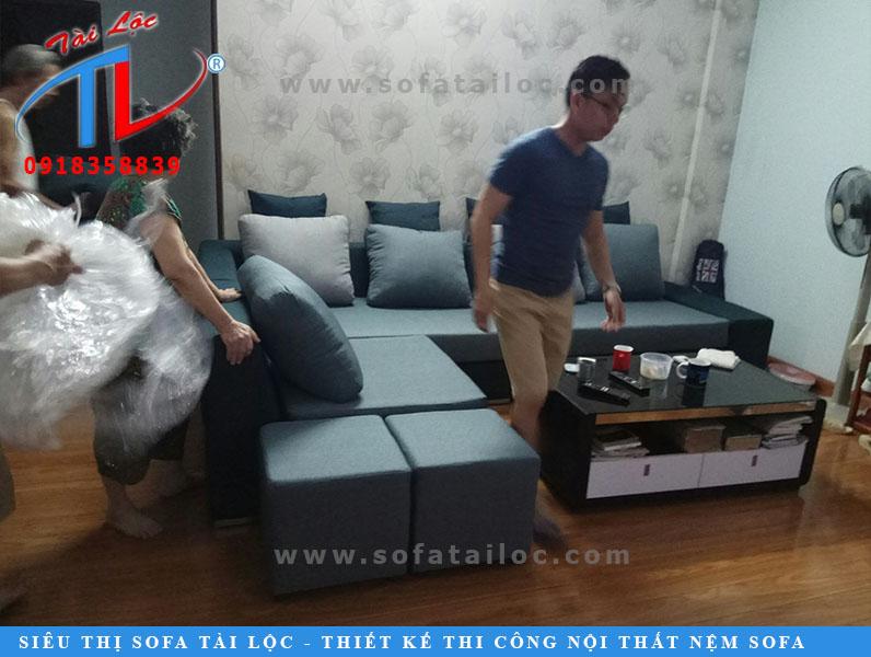 May bọc ghế sofa giá rẻ tại nhà là một trong các dịch vụ hàng đầu hiện nay của nội thất Tài Lộc.