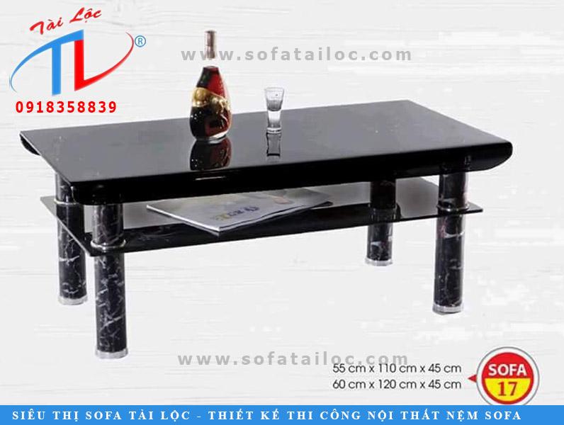 Một trong các mẫu bàn sofa đẹp được nhiều khách hàng đặt và sử dụng.