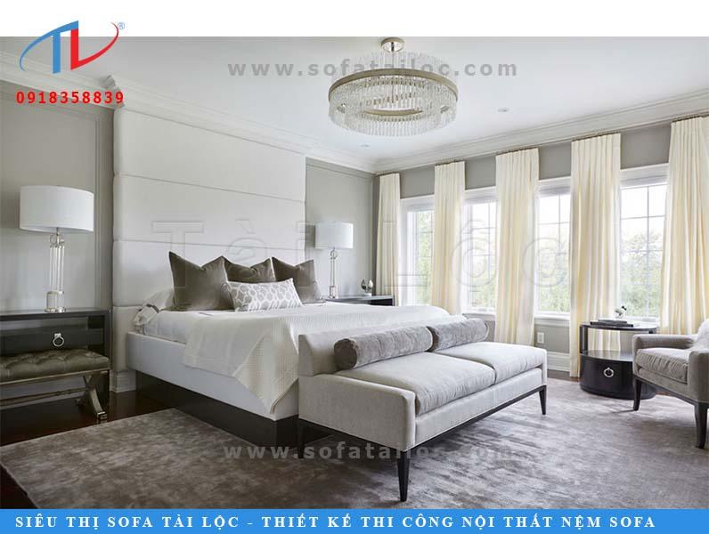 Tài Lộc chuyên cung cấp, thi công làm vách đầu giường đẹp, chất lượng theo yêu cầu của khách hàng. Tư vấn và lắp ráp nhanh chóng tại nhà không để khách hàng phiền lòng.
