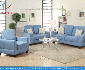 Chuyên cung cấp bàn ghế sofa phòng khách giá rẻ tại TPHCM và trên toàn quốc, một gợi ý mà khách hàng có thể cân nhắc là lựa chọn các mẫu ghế 2 hay 3 chỗ ngồi có thể tiết kiệm rất nhiều diện tích.