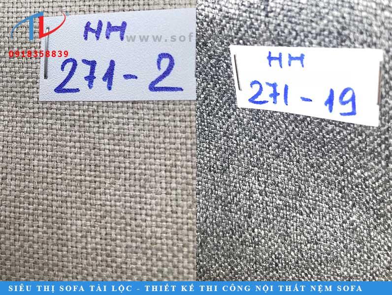 Có rất nhiều tông màu xám để bạn có thể chọn được mẫu vải bọc giường bọc nệm ưng ý.