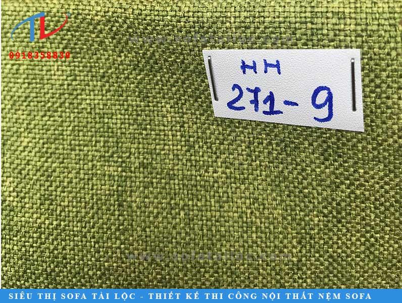 Không thể không nói đến các mẫu vải bọc giường sofa màu xanh. Gam màu này trông như một cánh đồng xanh nhẹ nhàng và êm ả.