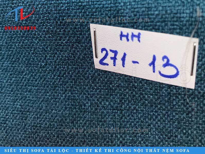 Vải có gam màu xanh dương cực kỳ phù hợp khi đặt trong phòng các bé trai.