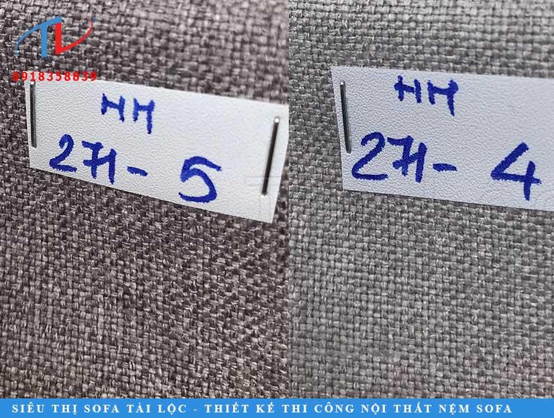 Các tập mẫu vải bọc sofa màu xám cũng được ưa chuộng hơn hẳn.