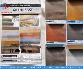 Louisa Leornard Leather là bộ sưu tập các mẫu da bọc ghế thời thượng và đẳng cấp