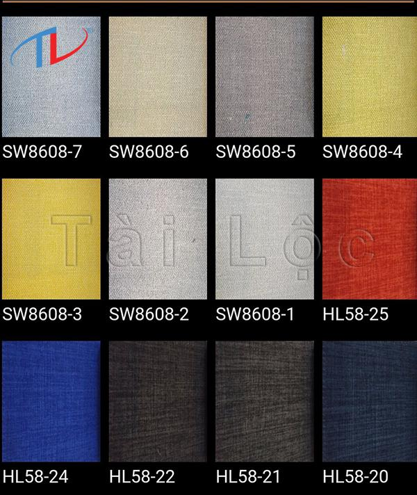 Những mẫu vải sofa nhập khẩu tại Tài Lộc được nhập khẩu từ những quốc gia sản xuất vải hàng đầu như Đài Loan, Hàn Quốc, Bỉ,...