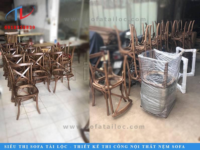 Sản xuất ghế cà phê và cung cấp các mặt hàng nội thất cho quán cà phê là thế mạnh của Tài Lộc.
