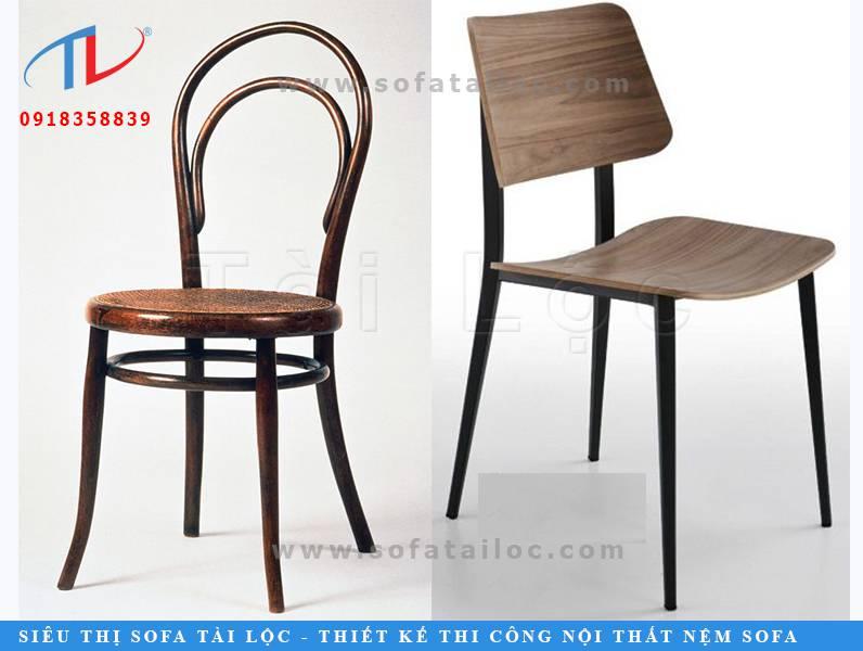 Mẫu bàn ghế cafe gỗ cho không gian hiện đại CF02 và CF03 cũng rất được nhiều khách hàng yêu thích. CF02 được thiết kế với kiểu dáng vòm tinh tế và phần dưới chân uốn cong cực đẹp. CF03 mang form dáng cong với phần chân xéo tinh tế. Mỗi mẫu có những đường nét thu hút riêng cực kỳ ấn tượng.