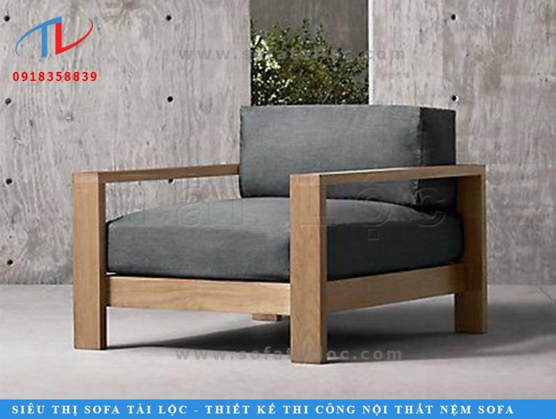 Mẫu bàn ghế cafe gỗ kiểu dáng hiện đại CF23 này có form dáng tựa như chiếc sofa cafe lớn. Có kích thước khá to nên nó thường chỉ phù hợp đặt tại những không gian rộng. Đi theo phong cách hiện đại hoặc sang trọng.