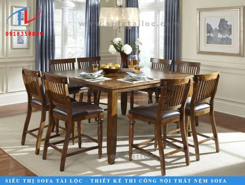 Những mẫu bàn ghế gỗ tự nhiên như CF25 rất phù hợp đặt tại phòng ăn, nhà hàng hay những nơi kinh doanh lĩnh vực ăn uống. Mang đến sự sang trọng, thân thuộc và ấm cúng cho không gian.
