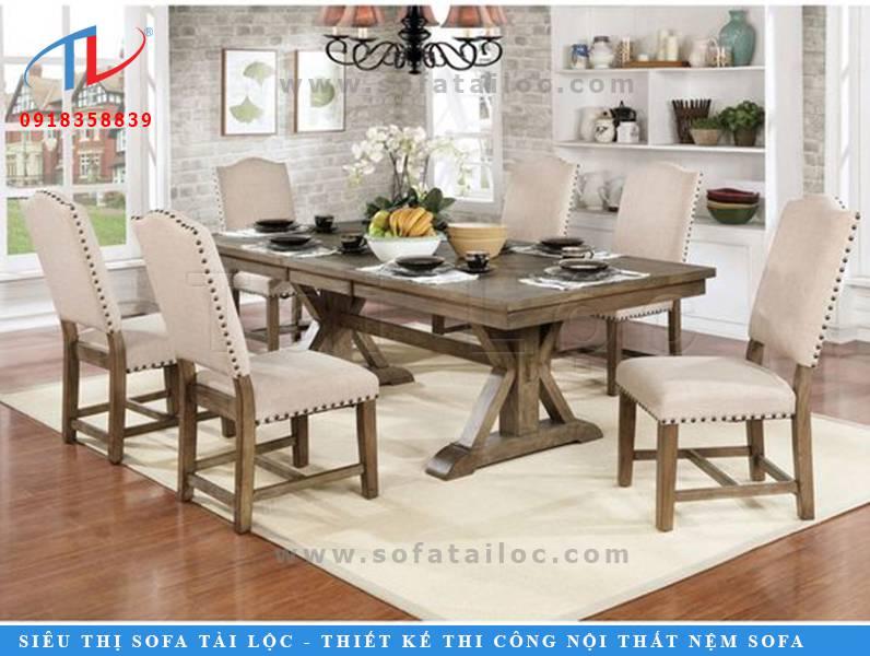 CF36 là bộ bàn ghế sofa quán ăn đẹp tân cổ điển được gắn đinh tán làm viền nổi bật. Giúp không gian vừa sang trọng vừa mới lạ. Thu hút và bắt mắt hơn.