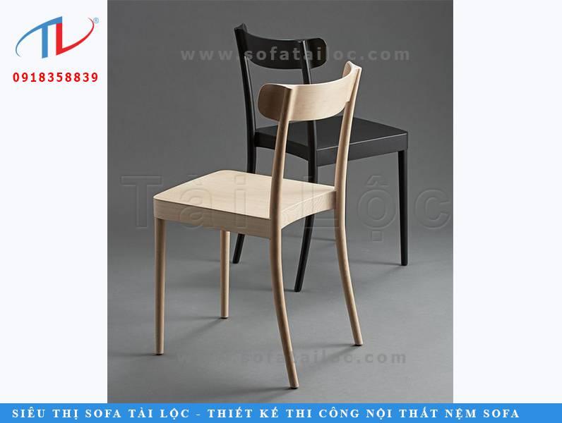 Mẫu ghế cafe gỗ chân cong CF010 là nàng thơ của những quán cafe hiện nay. Đơn giản là tốt nhất - Đây chính là ý nghĩa mà mẫu ghế này đem tới.