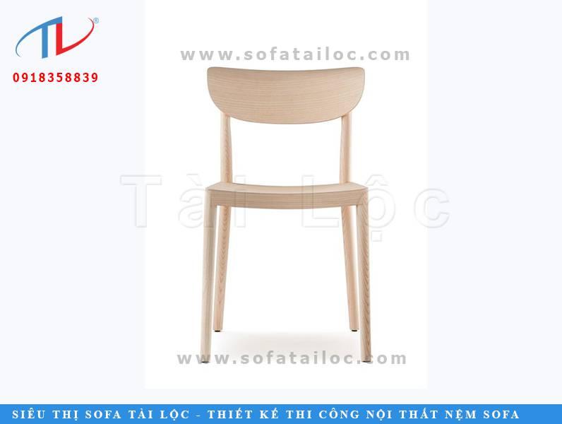 Mẫu ghế cafe gỗ đẹp hiện đại CF17 với form dáng trẻ trung, tươi mới