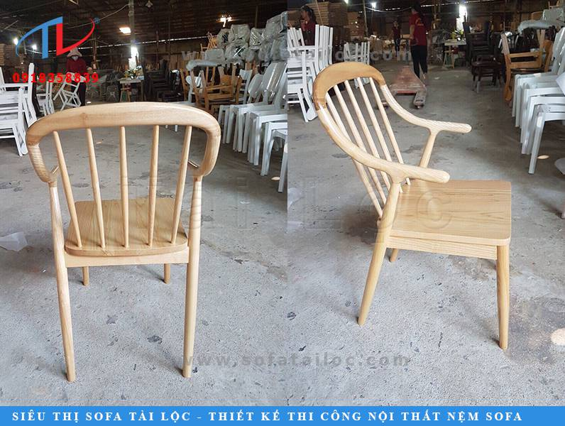 Tài Lộc có đa dạng các mẫu ghế cafe gỗ đẹp với nhiều thiết kế phong phú