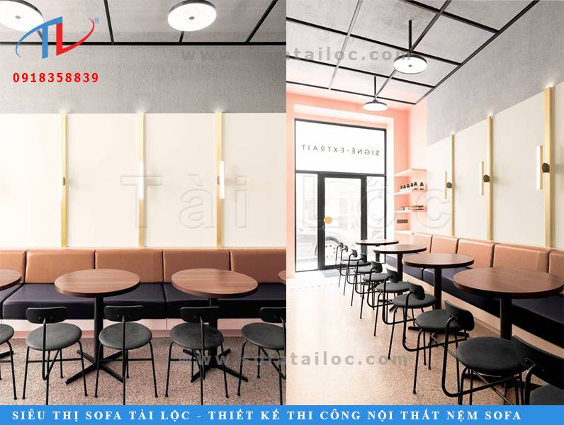 Không nhất thiết phải chọn những mẫu bàn ghế cafe đắt đỏ. Những bộ bàn ghế sofa cafe đẹp và phù hợp với không gian mới là lựa chọn thích hợp nhất.