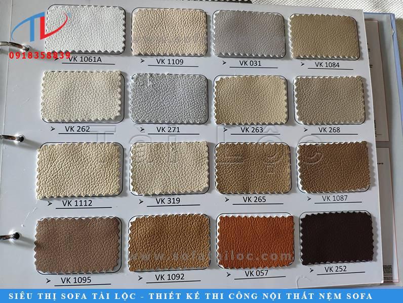 Trong các dòng da có mặt trên thị trường thì dòng da công nghiệp hàn quốc, thái lan, trung quốc và malaysia luôn được ưa chuộng hơn hẳn bởi giá thành mềm mại cùng sự phong phú về màu sắc