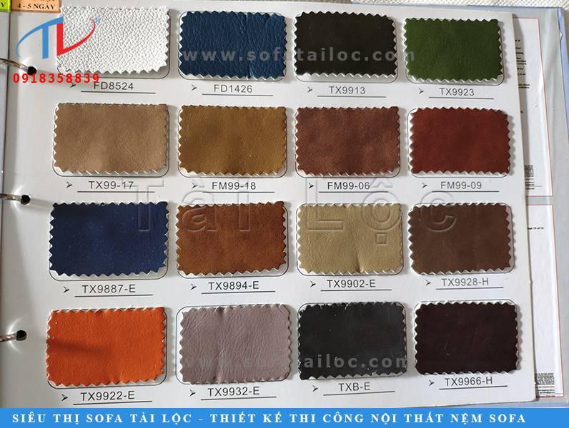 Các sản phẩm da công nghiệp pu sản xuất sofa tuy không bền bằng da loại 1 nhưng vẫn khá được ưu ái vì giá thành mềm mại