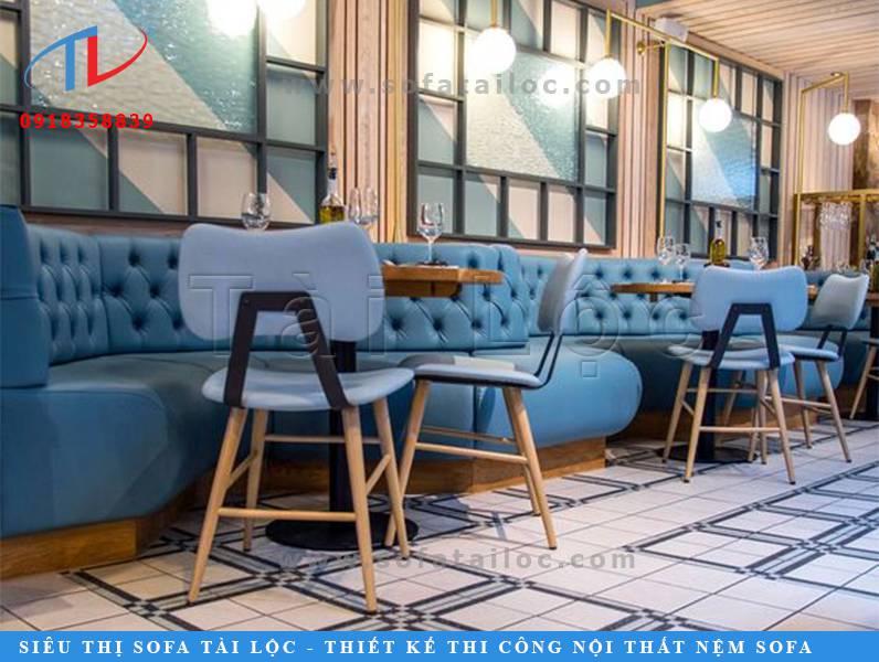 Bạn yêu tông mầu xanh và muốn không gian của mình sở hữu một bộ bàn ghế cafe tông xanh đúng ý? Thế nhưng bạn lại lo rằng không có nơi nào có đúng mẫu ghế theo thiết kế của bạn? Đừng quá lo lắng, vì bạn có thể đặt đóng mới bàn ghế sofa cafe giá rẻ theo yêu cầu để sở hữu những sản phẩm theo đúng nhu cầu của mình nhé.