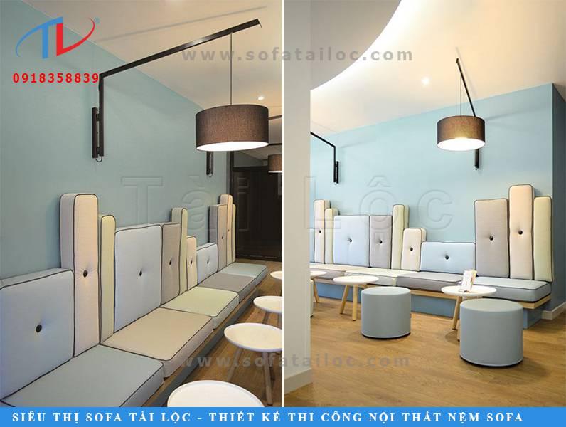 Các mẫu ghế sofa cafe đẹp giúp bạn gây được ấn tượng tốt với khách hàng, kèm theo những menu cafe thú vị sẽ phần nào giúp bạn lôi kéo khách hàng một cách hoàn hảo hơn