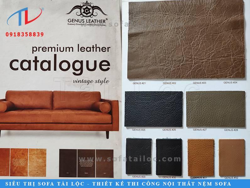 Những tập mẫu da ý bọc sofa luôn được nhiều người tiêu dùng ưa chuộng. Tài Lộc là địa chỉ mua bán da Italia bọc ghế sofa uy tín và chất lượng tại Việt Nam