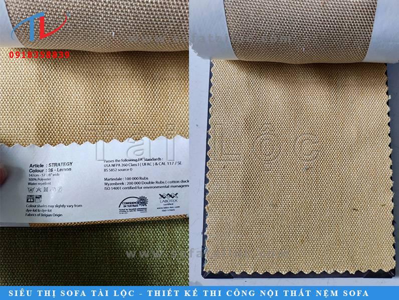 Tài Tài Lộc khách hàng có thể mua vải bỉ sofa cao cấp với những gam màu nhạt cực kỳ thanh tao