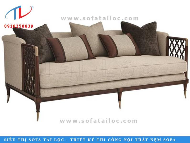 Một mẫu bàn ghế sofa quán cafe khá hiện đại và xinh xắn. Chủ yếu vẫn đi sâu vào các đường nét tối giản mang đến sự thanh lịch. Điểm nhấn chủ chốt là khung ghế được cách điệu ở phần tay mang đến sự mới mẻ cho không gian quán cafe