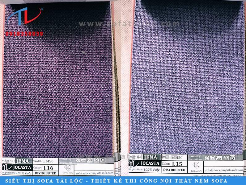 Kho mẫu chất liệu bọc sofa của Tài Lộc có hơn 500000 mẫu mã từ nhiều quốc gia sản xuất vật liệu bọc ghế sofa hàng đầu thế giới
