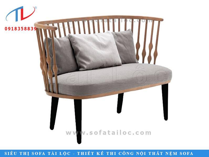 Kiểu ghế sofa cafe đẹp cho quán cafe với thiết kế tinh tế và nhỏ gọn phù hợp với nhiều kiểu không gian, nhất là những quán cafe có diện tích nhỏ nhắn, xinh xắn.