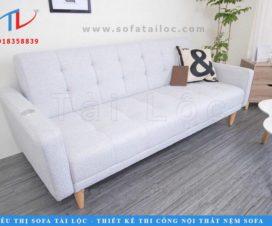 Bạn dễ dàng điều chỉnh kích thước và màu sắc những chiếc sofa bed thông minh cho phòng khách khi chọn lựa những đơn vị trực tiếp sản xuất sofa như Tài Lộc mà không qua trung gian.