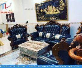 Sofa phòng khách cổ điển mang đến sự đẳng cấp cho những không gian phòng khách có diện tích lớn. Nó khá phù hợp khi đặt tại biệt thự, villa, resort, nhà hàng hay những khách sạn 5 sao.