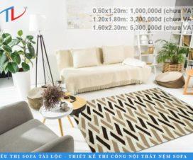 Là đơn vị cung cấp thảm sofa giá rẻ TPHCM và trên toàn quốc được đông đảo người tiêu dùng yêu thích và lựa chọn. Tài Lộc liên tục cập nhật các mẫu mã mới nhất mang đến nhiều sự lựa chọn hơn cho các khách hàng của mình.