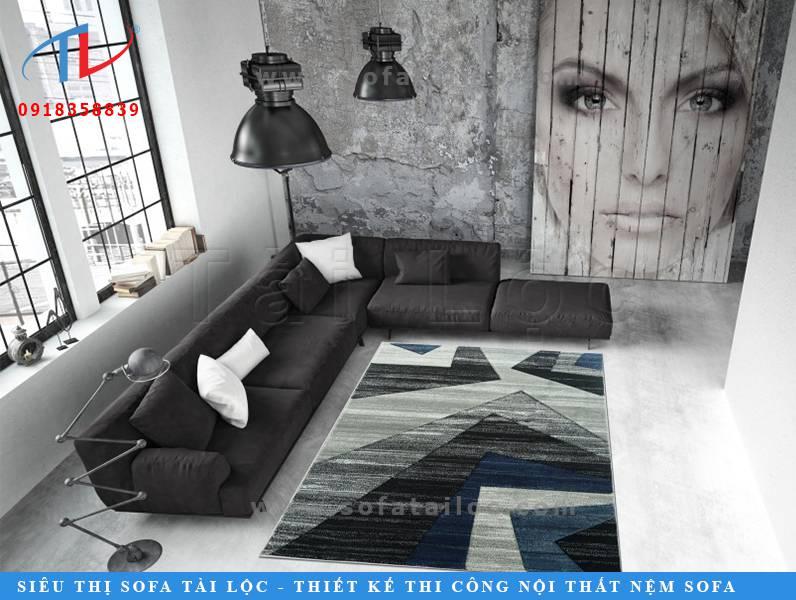 IC0033 là mẫu thảm sofa lông ngắn nhập khẩu có đường nét và màu sắc vô cùng cá tính và mạnh mẽ. Thể hiện được rõ nét hơn tính cách của gia chủ.