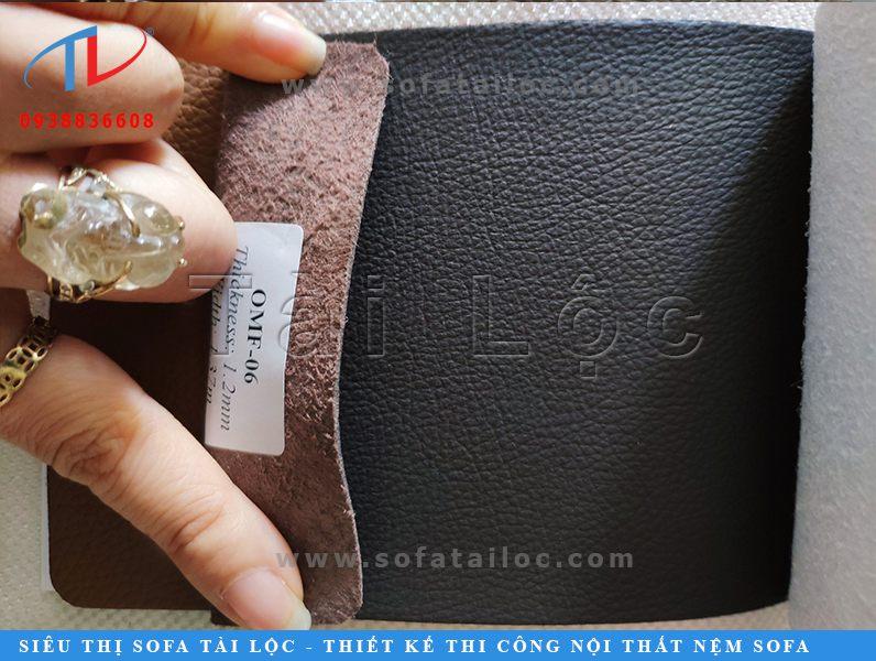 Da nhân tạo microfiber hay còn gọi là leather microfiber