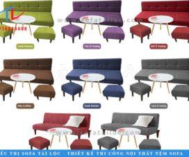 Ghế sofa kiêm giường ngủ cho phòng khách đang là dòng sản phẩm được đông đảo người tiêu dùng ưa chuộng.
