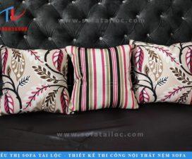 Gối tựa sofa đẹp với thiết kế sang trọng, nổi bật luôn là điều mà Tài Lộc hướng tới trong nhiều năm qua.