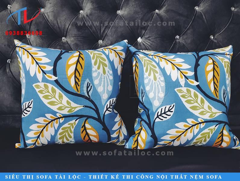 Nhận may gối tựa sofa đẹp giá rẻ theo nhu cầu của từng khách hàng. Sản phẩm cam đoan chỉn chu đến từng đường nét.