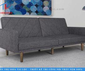 Sofa bed phòng khách giá rẻ với kích thước nhỏ nhắn, xinh xắn luôn là một trong những lựa chọn hàng đầu ngày nay.