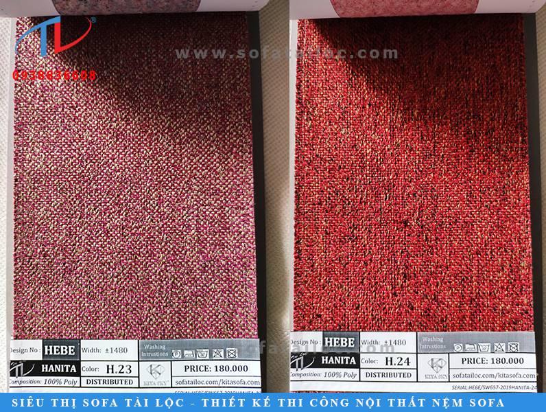 Vải may ghế sofa cao cấp là dòng sản phẩm chủ lực của nội thất Tài Lộc.