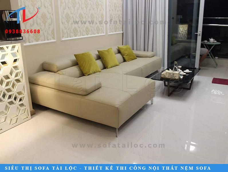 Tài Lộc là cơ sở sản xuất sofa theo yêu cầu với nhiều công trình chân thật giúp khách hàng dễ hình dung.